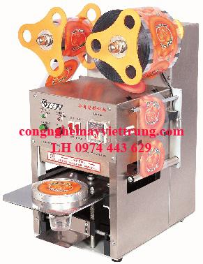 Bán Máy dán miệng cốc ET-D6, máy dán miệng cốc trà sữa. ..